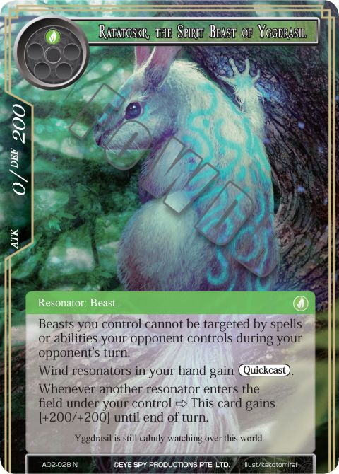 Ratatoskr, the Spirit Beast of Yggdrasil