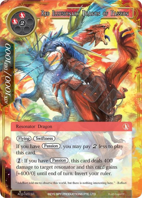 Red Illusionary Dragon of Passion