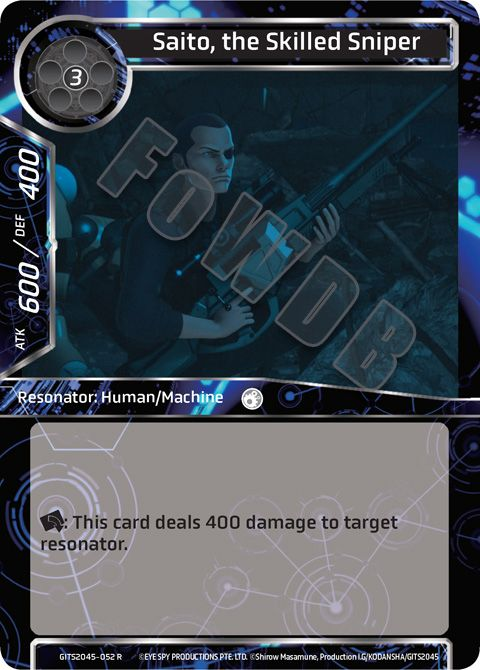 Saito, the Skilled Sniper