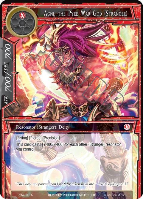 Agni, the Pyre War God (Stranger)