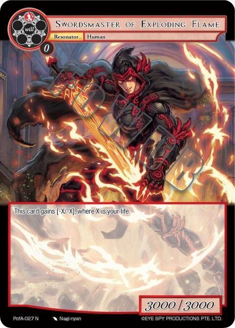 Swordsmaster of Exploding Flame