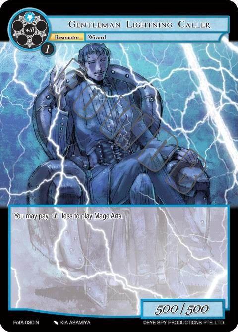 Gentleman Lightning Caller