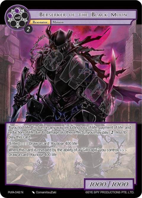 Berserker of the Black Moon
