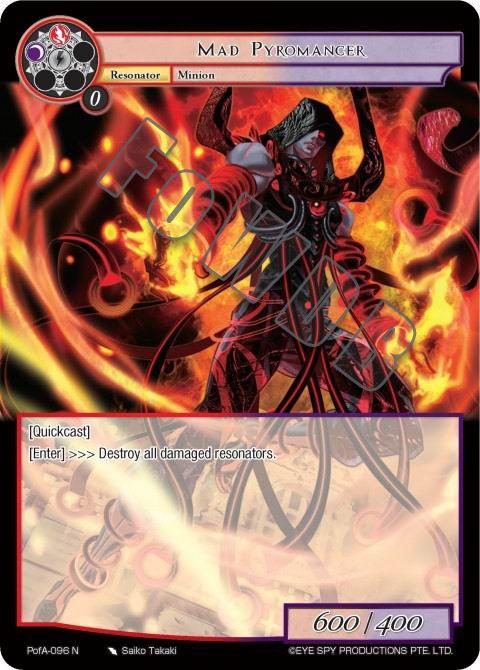 Mad Pyromancer
