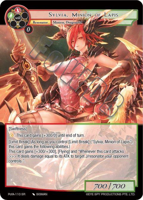 Sylvia, Minion of Lapis