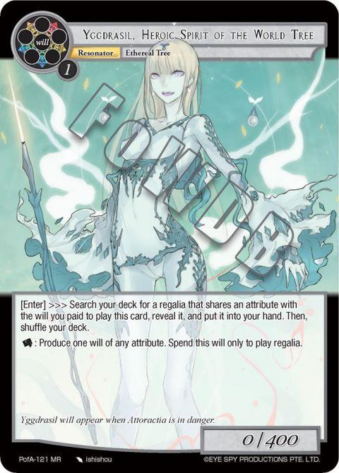 Yggdrasil, Heroic Spirit of the World Tree