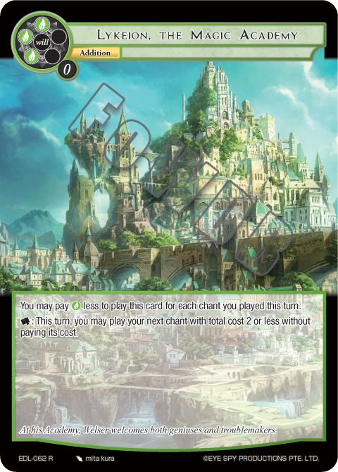 Lykeion, the Magic Academy