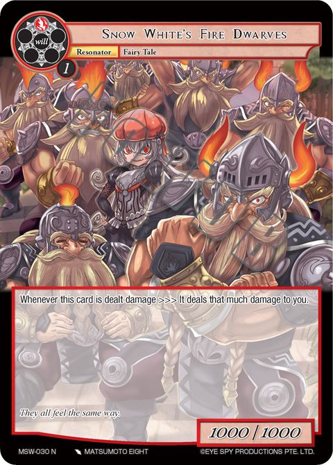 Snow White's Fire Dwarves