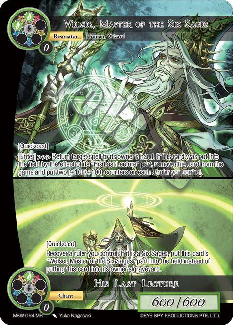 Welser, Master of the Six Sages