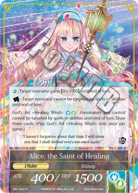 Alice, the Saint of Healing