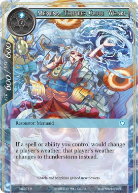 Mephina, Thunder Cloud Wizard
